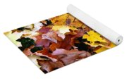 Leaves Of Fall Yoga Mat