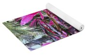 Leaves Of Pink Yoga Mat