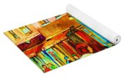 Lets Meet For Lunch Yoga Mat
