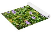 Lettuce Lake Flowers Yoga Mat