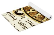 Libra Star Sign Yoga Mat
