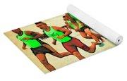 Lifeguard Runners Yoga Mat