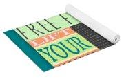 Lift Your Anchor Yoga Mat