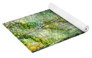Light In The Forest Yoga Mat