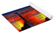 Lights And Shadows Yoga Mat