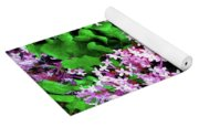 Lilacs In May Yoga Mat