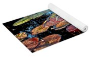 Lily Pads At Sunset Yoga Mat