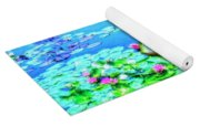 Lily Pond 2 Yoga Mat