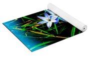 Little Star Wind Flowers Yoga Mat