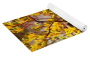 Little Yellow Flowers Yoga Mat