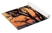 Loan Tree Overlooking Fog Yoga Mat