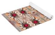 Lotus Bloom Spreading Peace In Mind Yoga Mat