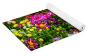 Lovely Dahlia Garden Yoga Mat