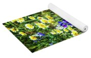 Lupine Amidst Tidy Tips Yoga Mat