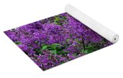 Luxurious Lilacs Yoga Mat