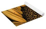 Macro Sunflower Yoga Mat