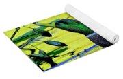 Mallard Eating Seed Pod 2 Yoga Mat