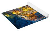 Manarola By Night Yoga Mat