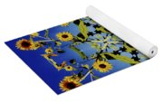 Mandala Sunflower Yoga Mat
