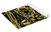 Many Flowers Abstract Yoga Mat