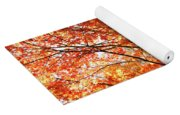 Maple Tree Foliage Yoga Mat