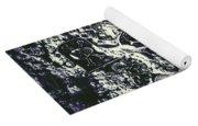 Marine Elemental Abstraction Yoga Mat