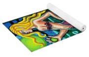 Mermaid With Pearl Yoga Mat