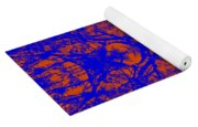 Mirage In Blue - Abstract Yoga Mat