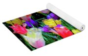 Mixed Tulips In Bloom  Yoga Mat