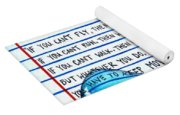 Mlk Love Note Yoga Mat