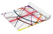 Modern Drawing Twelve Yoga Mat