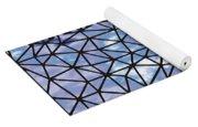 Modern Web Yoga Mat