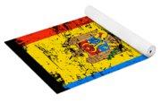 Moldova Gift Country Flag Patriotic Travel Shirt Europe Light Yoga Mat