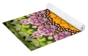 Monarch Butterfly On Milkweed Kaleidoscope Yoga Mat