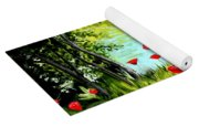 Monte Rio Poppies Yoga Mat