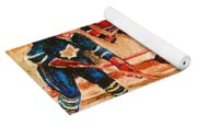 Montreal Forum Hockey Game Yoga Mat