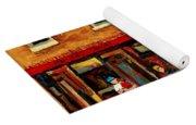 Montreal Streetscenes By Cityscene Expert Painter Carole Spandau Over 500 Prints Available  Yoga Mat