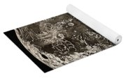 Moon Surface By John Russell Yoga Mat