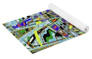 More Colors Abstract Yoga Mat