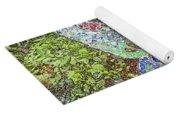 Mosaic Butterfly Yoga Mat