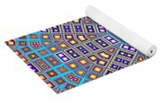 Mosaic Kaleidoscope  Yoga Mat