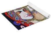 Motherhood - Tribute To Klimt Yoga Mat