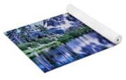 Mount Shuksan And Picture Lake Yoga Mat