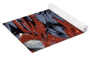 Mountains In Winter Yoga Mat