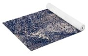 Mountainside Abstract - Red Rock Canyon Yoga Mat