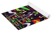 Multi Color Abstract Yoga Mat