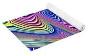 Multicolor Swirls Yoga Mat