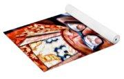 Musical Monk Watercolor Yoga Mat