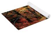 Mystery Of Autumn Yoga Mat