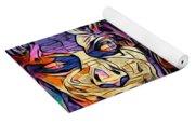 Mystic City Faces - Version B  Yoga Mat